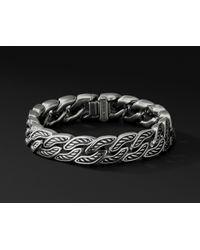 David Yurman - Maritime Curb Link Bracelet, 11.5mm - Lyst