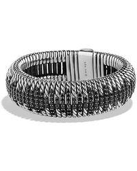 David Yurman - Tempo Bracelet With Black Spinel - Lyst