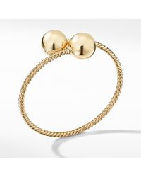 David Yurman - Solari Bypass Bracelet In 18k Gold - Lyst