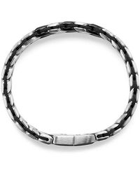 David Yurman - Chevron Woven Bracelet, 12mm - Lyst