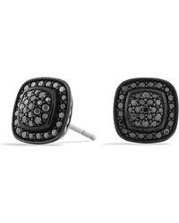 David Yurman - Petite Albion® Earrings With Black Diamonds - Lyst