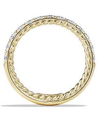 David Yurman | Dy Eden Eternity Wedding Band With Diamonds In 18k Gold, 2.8mm | Lyst