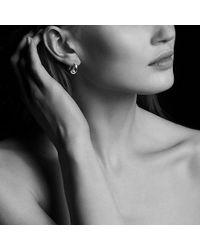 David Yurman - Pure Form® Pod Earrings In 18k Gold, 15mm - Lyst