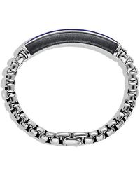 David Yurman | Exotic Stone Id Bracelet With Lapis Lazuli | Lyst