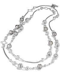David Yurman - Bijoux Bead And Chain Necklace - Lyst