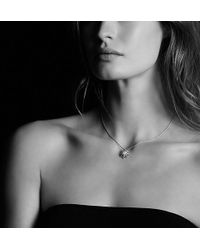 David Yurman | Starburst Small Pendant Necklace With Diamonds, 16mm | Lyst