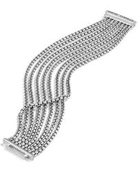 David Yurman - Chain Eight-row Bracelet, 18mm - Lyst