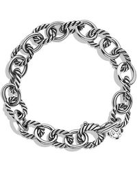 David Yurman - Medium Oval Link Bracelet - Lyst