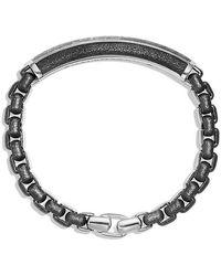 David Yurman - Meteorite Id Bracelet - Lyst