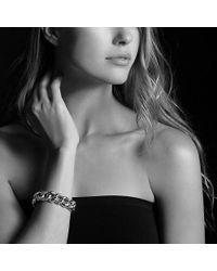 David Yurman - Belmont Curb Link Bracelet With 18k Gold, 18mm - Lyst