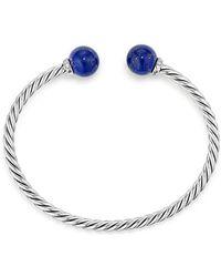David Yurman   Solari Bracelet With Diamonds & Lapis Lazuli   Lyst