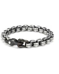 David Yurman - Anvil Chain Bracelet - Lyst