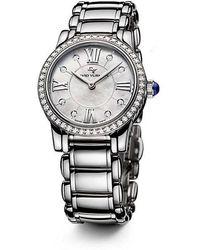 David Yurman | Classic 30mm Quartz Watch With Diamonds | Lyst