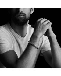 David Yurman | Modern Cable Id Bracelet With Pietersite | Lyst