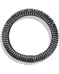 David Yurman - Tempo Bracelet With Diamonds, 20mm - Lyst
