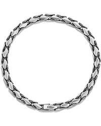 David Yurman - Medium Fluted Chain Bracelet, 5mm - Lyst
