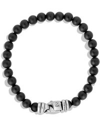 David Yurman - Spiritual Beads Bracelet With Black Onyx, 6mm - Lyst