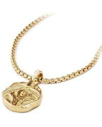 David Yurman - Shipwreck Coin Amulet In 22k Gold, 23mm - Lyst