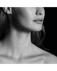 David Yurman - Starburst Earrings With Diamonds In 18k Rose Gold, 10mm - Lyst