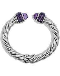 David Yurman - Osetra Bracelet With Amethyst, 10mm - Lyst