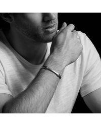 David Yurman - Anvil Cuff Bracelet With Cognac Diamonds And Bronze - Lyst