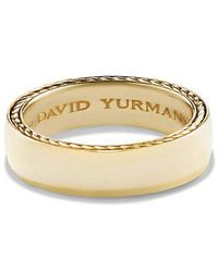 David Yurman - Streamline Band Ring In 18k Gold, 6mm - Lyst