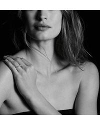 David Yurman - Dy Eden Single Row Wedding Band With Diamonds In Platinum, 3.6mm - Lyst