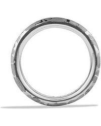 David Yurman - Fused Meteorite Ring - Lyst