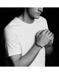 David Yurman - Armory Leather Bracelet In Brown - Lyst