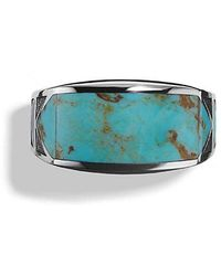David Yurman - Frontier Ring With Turquoise - Lyst