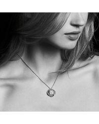 David Yurman - Crossover® Pendant Necklace With Diamonds - Lyst