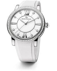 David Yurman | Classic 38mm Rubber Swiss Quartz Watch With Diamonds | Lyst