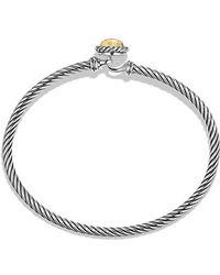 David Yurman | Chatelaine Bracelet With 18k Gold | Lyst