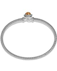 David Yurman | Châtelaine® Bracelet With Citrine | Lyst