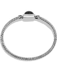 David Yurman - Albion® Bracelet With Black Onyx And Diamonds, 11mm - Lyst