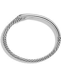 David Yurman - Labyrinth Single-loop Bracelet, 10mm - Lyst