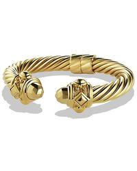 David Yurman - Renaissance Bracelet In 18k Gold, 10mm - Lyst