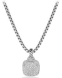 David Yurman - Albion Pendant With Diamonds, 11mm - Lyst
