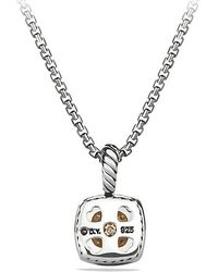 David Yurman - Petite Albion® Pendant Necklace With Diamonds - Lyst