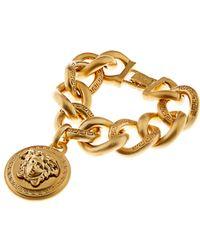 Versace Medusa Medallion Bracelet - Lyst