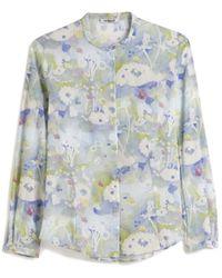 Cacharel Stand-Up Collar Shirt - Lyst