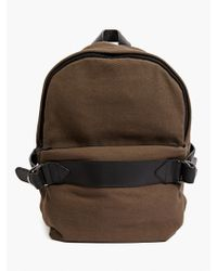 Silent - Damir Doma Men'S Khaki 'Aliot' Cotton Backpack - Lyst