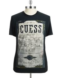Guess Crew Neck Tshirt - Lyst