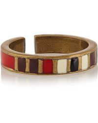 Isabel Marant Blondie Brass Resin Ring - Lyst