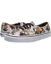 Vans Authentic X Aspca - Lyst