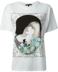 Gucci 'Kris Knight' Printed T-Shirt - Lyst