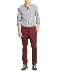 Michael Kors Stretch Cotton Chinos - Lyst