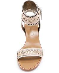Cynthia Vincent - Fayette Sandals - Nude Combo - Lyst