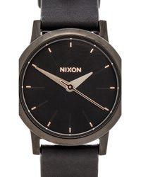 Nixon The Kenzi Leather - Lyst
