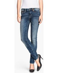 H&M Jeans Slim Fit - Lyst